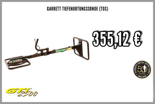 Garrett TreasureHound Eagle Eye / Tiefenortungssonde TOS für GTI 2500