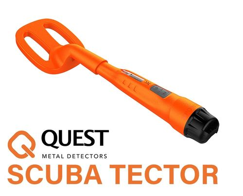 Quest Scuba Tector Orange Unterwasser Metalldetektor