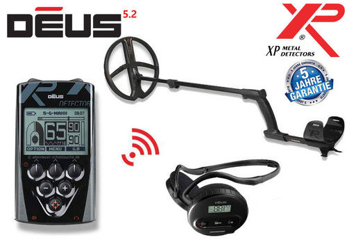 XP DEUS X35 28 RC WS4 Komplett Set