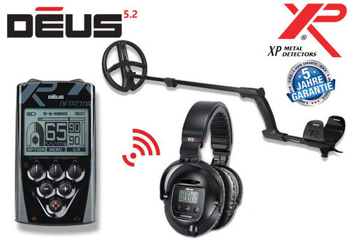XP DEUS X35 22 RC WS5 Komplett Set